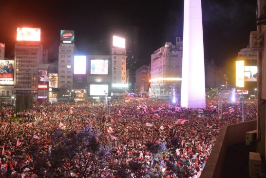 Impresionantes imágenes que dejó celebración del River campeón de Libertadores