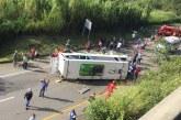 Así va investigación tras accidente de bus que dejó 9 personas muertas en vías del Valle