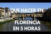 Por error 5 horas en Florencia
