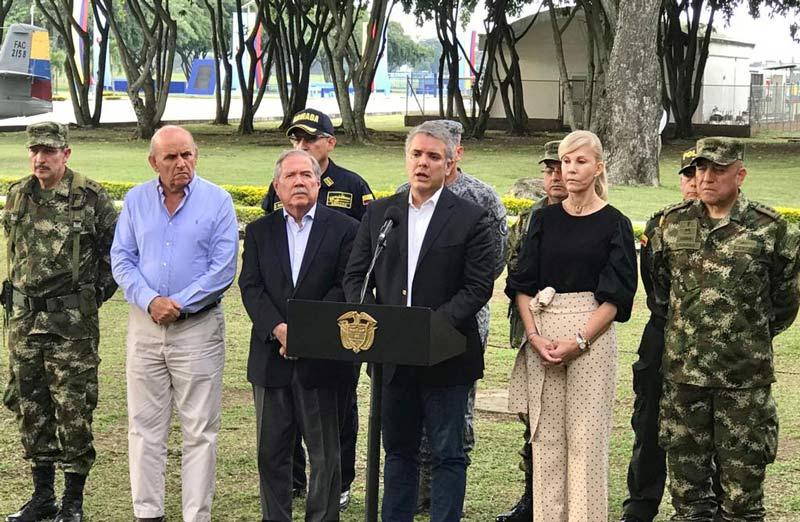 Plan de seguridad para Cali será reforzado con 200 nuevos policías, anunció Duque