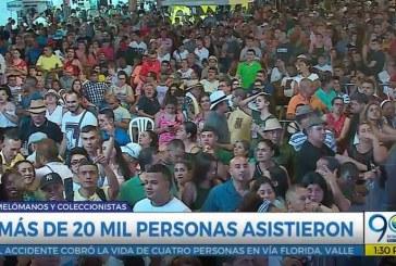Lo que pasó: El encuentro de Melómanos obtuvo una gran asistencia en la Feria de Cali