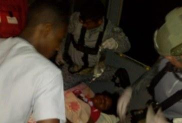 Fuerza Aérea trasladó a niña que fue mordida por una serpiente en Nariño