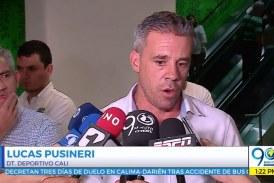 Llegó Lucas Pusineri, nuevo director técnico del Deportivo Cali para 2019