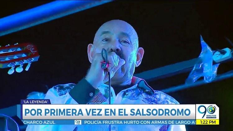 De rumba con: Oscar de León por primera vez en el Salsódromo