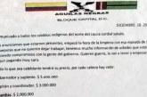 Con panfleto, Águilas Negras ofrecen dinero por asesinar líderes indígenas en Cauca