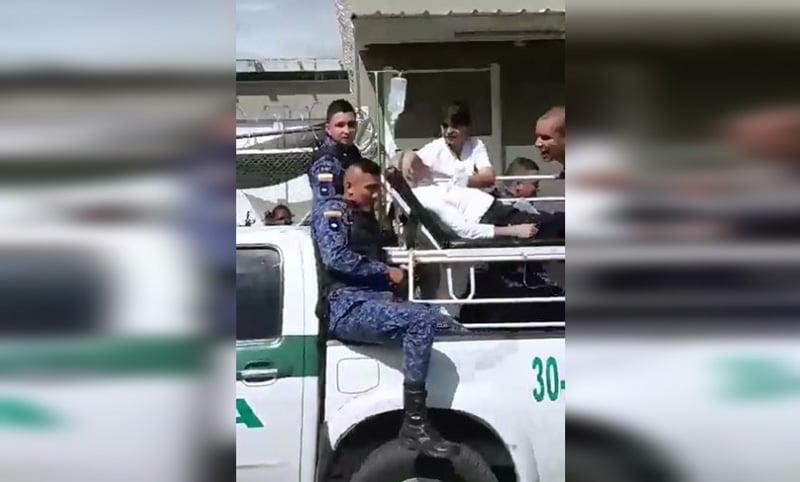 Por falta de ambulancia en cárcel de Tuluá, interno tuvo que ser trasladado en camioneta