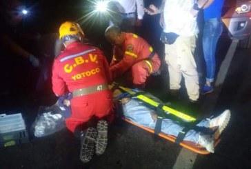 Tres personas muertas dejó aparatoso accidente cerca al peaje de Mediacanoa, Valle
