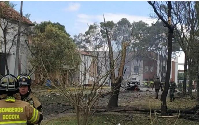 Autor material de atentado en Bogotá es identificado como José Aldemar Rojas