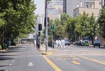 Al menos 5 heridos en Chile por explosión de artefacto en parada de autobús