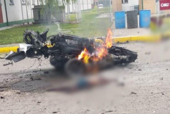 Conductor kamikaze habría ingresado a la fuerza a Escuela de Policía de Bogotá