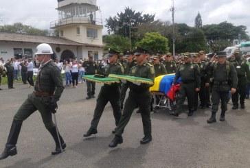 El cuerpo del cadete vallecaucano Diego Alejandro Pérez ya llegó a Tuluá