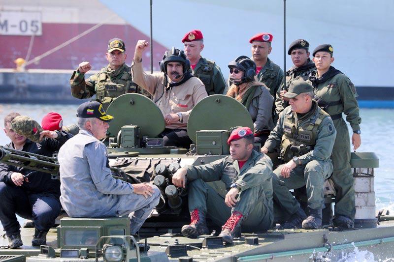 Maduro convoca Consejo de Defensa de la Nación ante 'amenazas' de Colombia