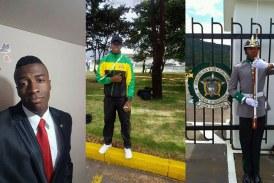 Pradera llora a Alfonso Mosquera, uno de los cadetes muertos por atentado en Bogotá