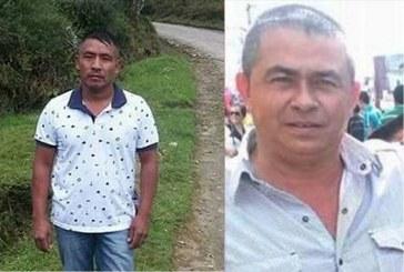 Investigan dos nuevos casos de asesinato a líderes sociales en Cauca y Valle
