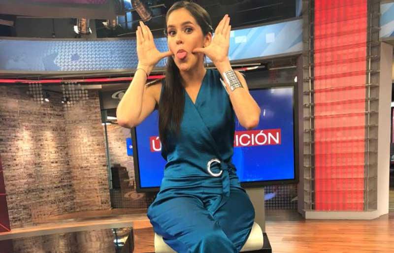 'Tremenda' embarrada de Linda Palma en vivo que seguidores no le perdonaron