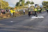 Mujer murió en accidente de tránsito entre tren cañero y motocicleta en vía Zarzal-La Paila