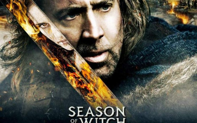 "Nicolas Cage se convierte en un cazador de brujas en ""Season of the Witch"""