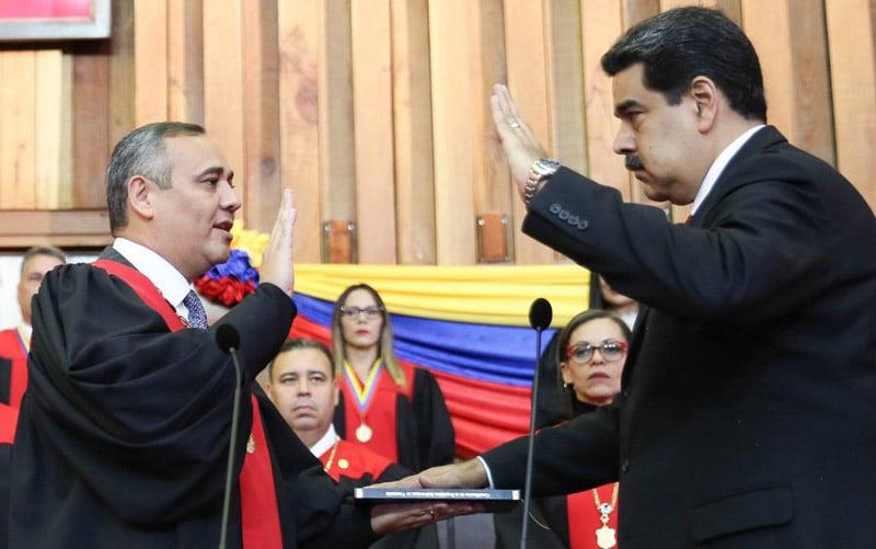 Nicolás Maduro juramenta y asume nuevo periodo de gobierno hasta 2025