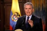 """""""Cadena perpetua para violadores y asesinos de niños en Colombia"""": presidente Iván Duque"""