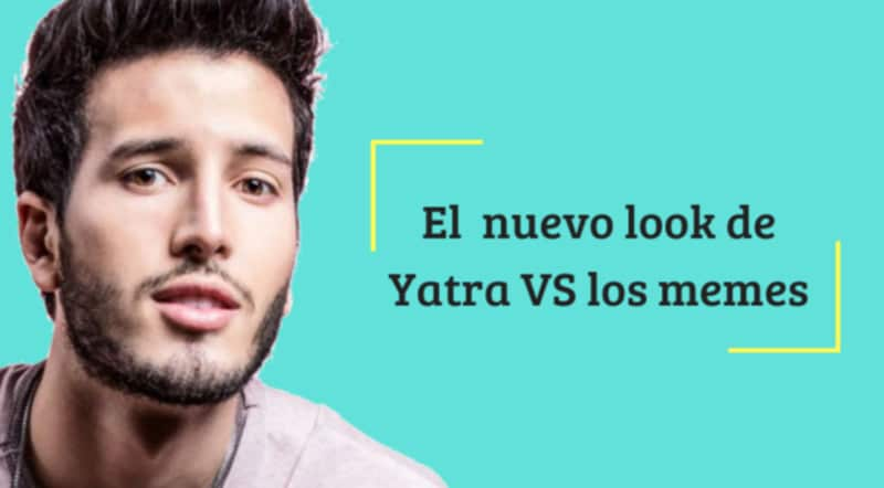 Sebastián Yatra sorprende con cambio de look y los memes no se hicieron esperar
