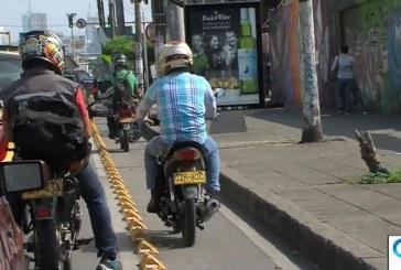 Sensibilizan a caleños sobre el buen uso de bicicarriles y pasos peatonales