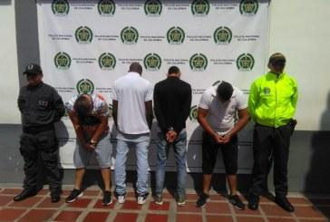 Cae banda dedicada al hurto de droguerías y distribuidores de quesos en Cali