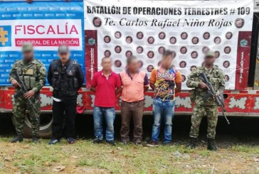 Cae hombre que transportaba insumos para fabricación de drogas en Cauca