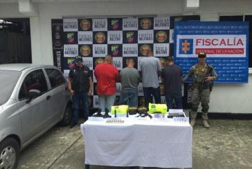 Envían a la cárcel a los cuatro policías capturados por extorsión a comerciante