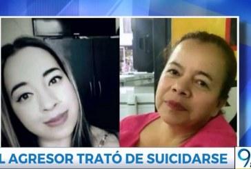 Murió hombre que intentó suicidarse tras asesinar a su esposa y a su suegra