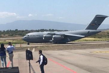 Llegó a Cúcuta tercer cargamento de ayuda humanitaria de EEUU para Venezuela