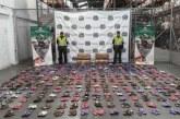 Autoridades decomisan 5 mil pares de calzado de contrabando en vías del Valle