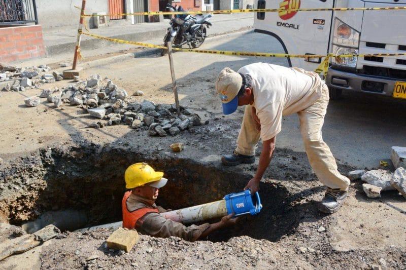 Suspensión temporal del servicio de agua en algunos barrios de la comuna 2