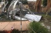 Emergencia en Candelaria tras desplome de tanque de almacenamiento de agua