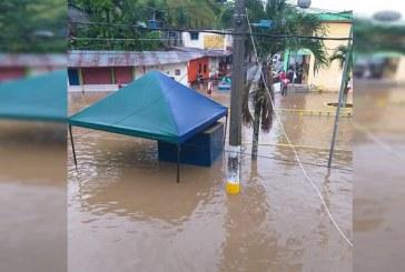 Emergencia en Chocó por el desbordamiento de cinco ríos