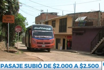 Empresa de bus que llega a Golondrinas subió 500 pesos el pasaje, hay molestia en usuarios