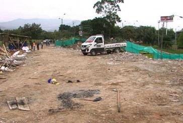 A punto de culminar la evacuación total de residuos en Escombrera de la 50