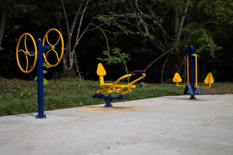 Hacen entrega de nuevos espacios deportivos en el Ecoparque del río Pance