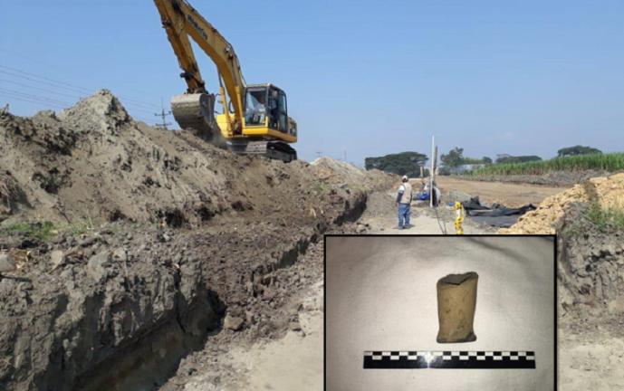 Hallan restos arqueológicos indígenas en construcción de la vía Cali-Candelaria