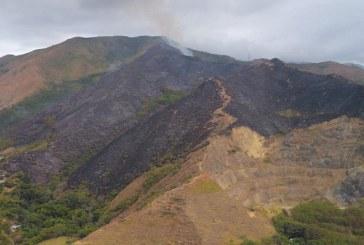 Continúa incendio forestal de gran magnitud en oeste de Cali