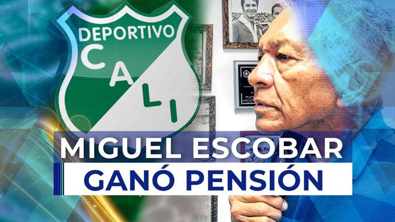 Miguel Escobar, ídolo del Deportivo Cali, ganó demanda contra el club 'azucarero'