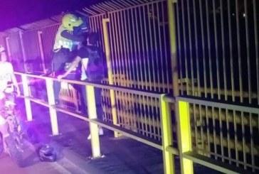 Frustran 2 suicidios en el mismo puente donde mujer se lanzó con su hijo en Ibagué
