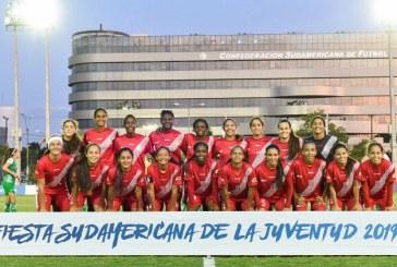 Selección Valle Femenina, campeona de la Fiesta Sudamericana de la Juventud