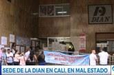 Trabajadores de la Dian en Cali se sienten inseguros en edificio donde laboran