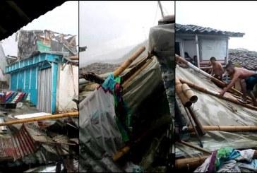 Al menos 20 casas afectadas dejó fuerte vendaval registrado en el norte del Valle