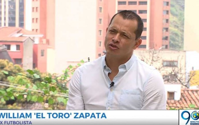 Charlas a la Carta con Guido Correa: William 'El Toro' Zapata Ex futbolista