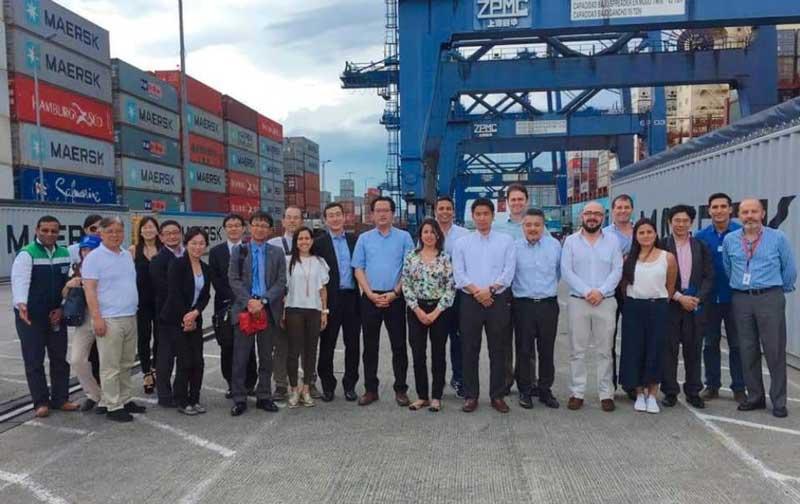 Empresarios japoneses ven a Buenaventura como centro de intercambios comerciales