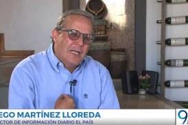Charlas a la Carta con Guido Correa: Diego Martínez Lloreda, director información El País