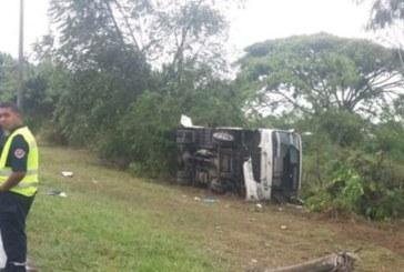 Accidente en la vía Aeropuerto – Palmira dejó cerca de 16 personas heridas