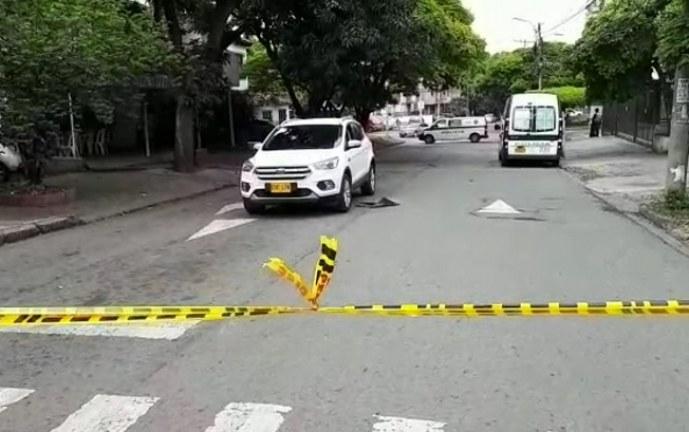 Avanza investigación por atentado sicarial donde murió contador en el norte de Cali