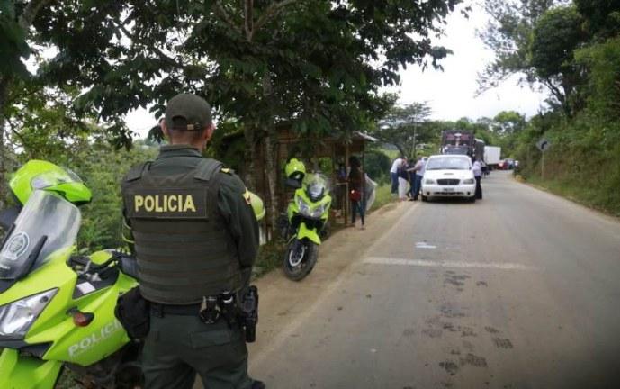 En medio de protestas, autoridades denuncian ataques con ácido a Policías en Cauca